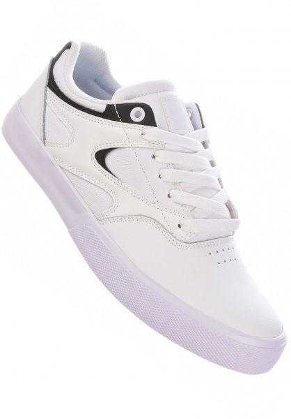 DC Shoes Alle Schuhe Kalis Vulc white-black vorderansicht 0604732