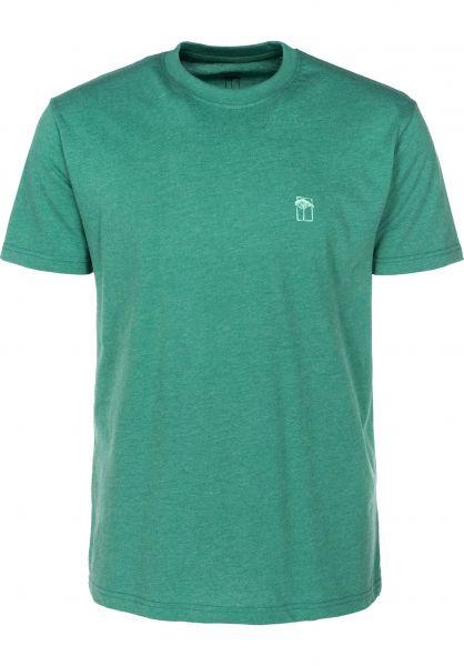 Mahagony T-Shirts Small T.O.L green vorderansicht 0399468