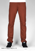 Reell-Chinos-und-Stoffhosen-Grip-Tapered-burned-orange-Vorderansicht