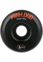 Mini-Logo Rollen A-Cut #2 101A black Vorderansicht