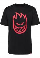 Spitfire T-Shirts Bighead black-red Vorderansicht