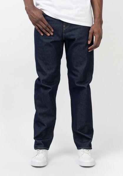Carhartt WIP Jeans Pontiac Pant bluerinsed vorderansicht 0269077