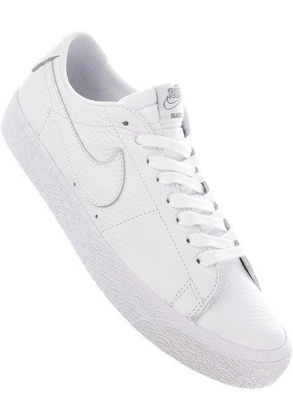 Nike SB Alle Schuhe Zoom Blazer Low NBA white-rushblue vorderansicht 0604564 3046d359831