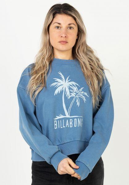 Billabong Sweatshirts und Pullover Dos Palms dutchblue vorderansicht 0423073