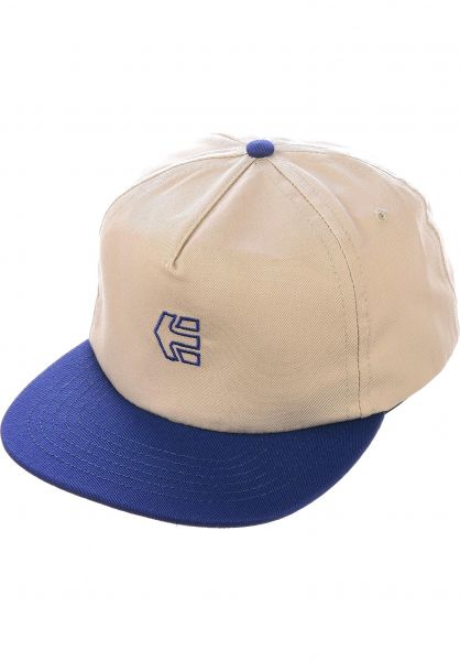 etnies Caps Icon Strapback natural vorderansicht 0566988