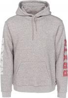 brixton-hoodies-haste-ii-sv-heathergrey-vorderansicht