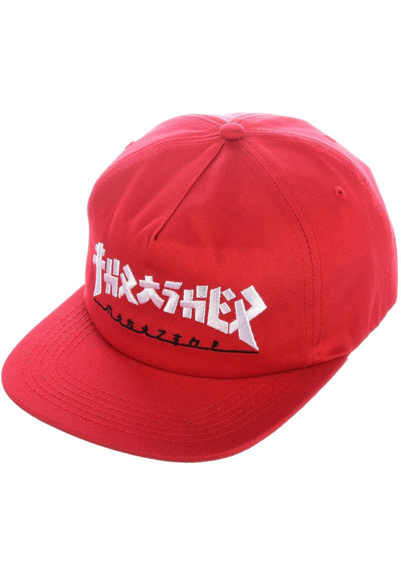 e8ec157ef Godzilla Snapback Thrasher Caps in red for Men | Titus