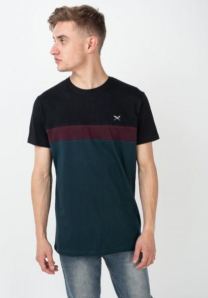 iriedaily T-Shirts Court darkorion vorderansicht 0320401