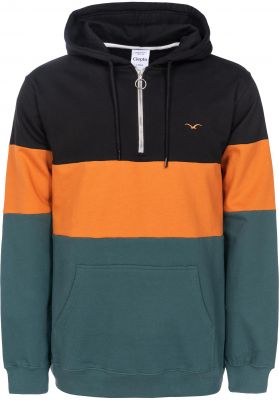 Cleptomanicx Deck Stripe Half Zip