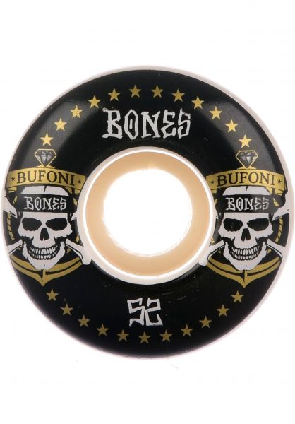 Bones Wheels Rollen STF Bufoni Live 2 Ride 83B V1 white vorderansicht 0134418