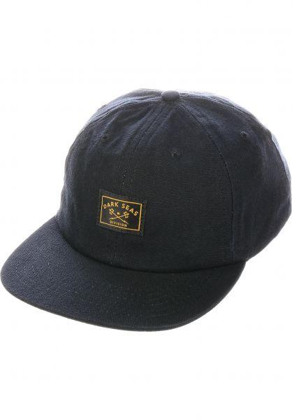 Dark Seas Caps Saguaro black vorderansicht 0566670