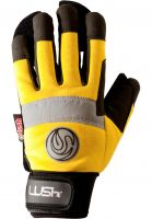 Lush Handschoner Freeride Gloves yellow Vorderansicht