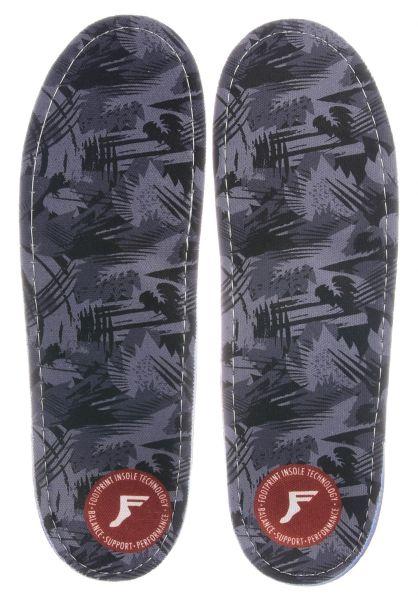 Footprint Insoles Einlegesohlen Kingfoam Gamechangers Camo darkgrey-camo vorderansicht 0249076
