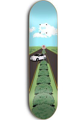 Skate-Mental Texting white driving