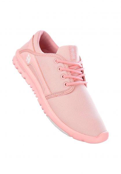 etnies Alle Schuhe Scout pink-pink-white Vorderansicht