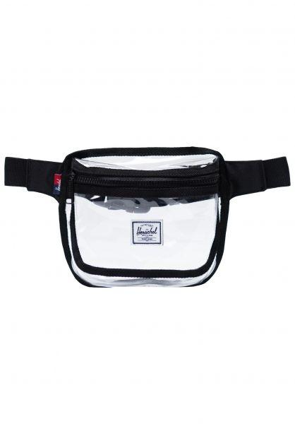 Herschel Hip-Bags Fifteen black-clear vorderansicht 0169047
