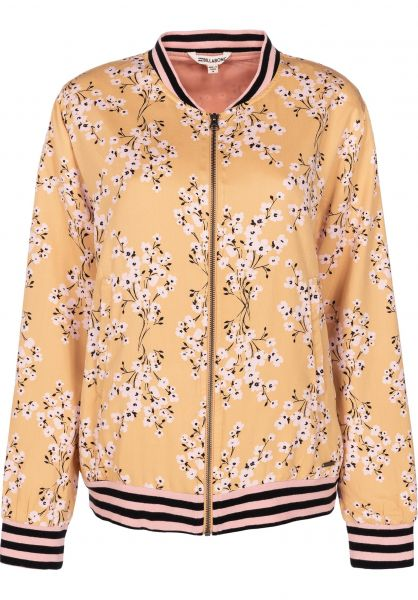 Billabong Übergangsjacken Retro Bloom goldenhour vorderansicht 0504322