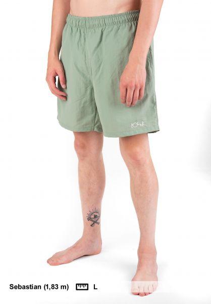 Polar Skate Co Beachwear Swim Shorts seafoamgreen Vorderansicht