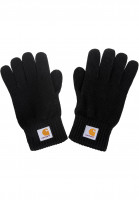 Carhartt-WIP-Handschuhe-Watch-Gloves-black-Vorderansicht