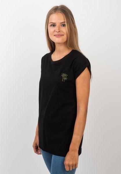 Ezekiel T-Shirts Palms black vorderansicht 0399345