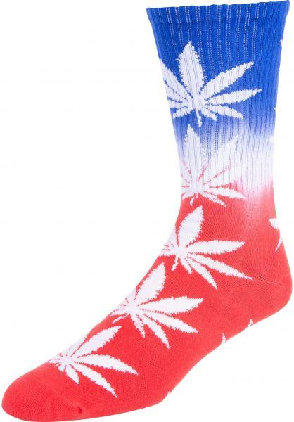 HUF Socken HUF Plantlife USA red Vorderansicht