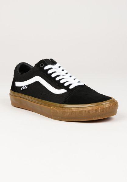 Vans Alle Schuhe Skate Old Skool black-gum vorderansicht 0604963