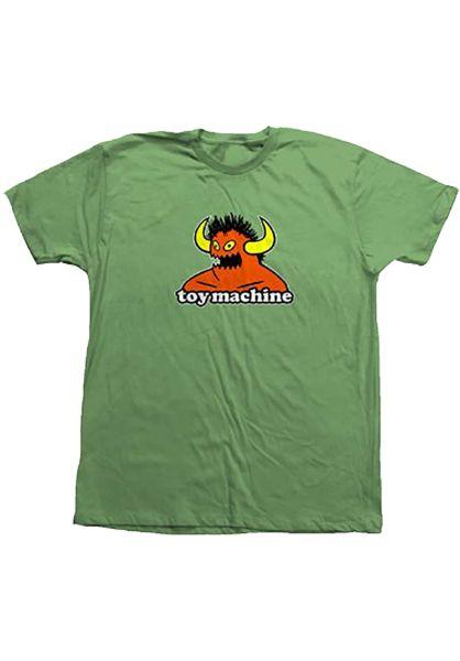 Toy-Machine T-Shirts 80´s Monster kiwi vorderansicht 0322054