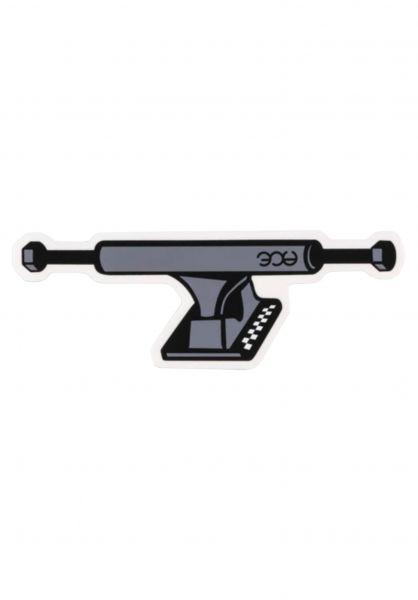 """Ace Verschiedenes 5"""" Truck Sticker grey-black vorderansicht 0972665"""