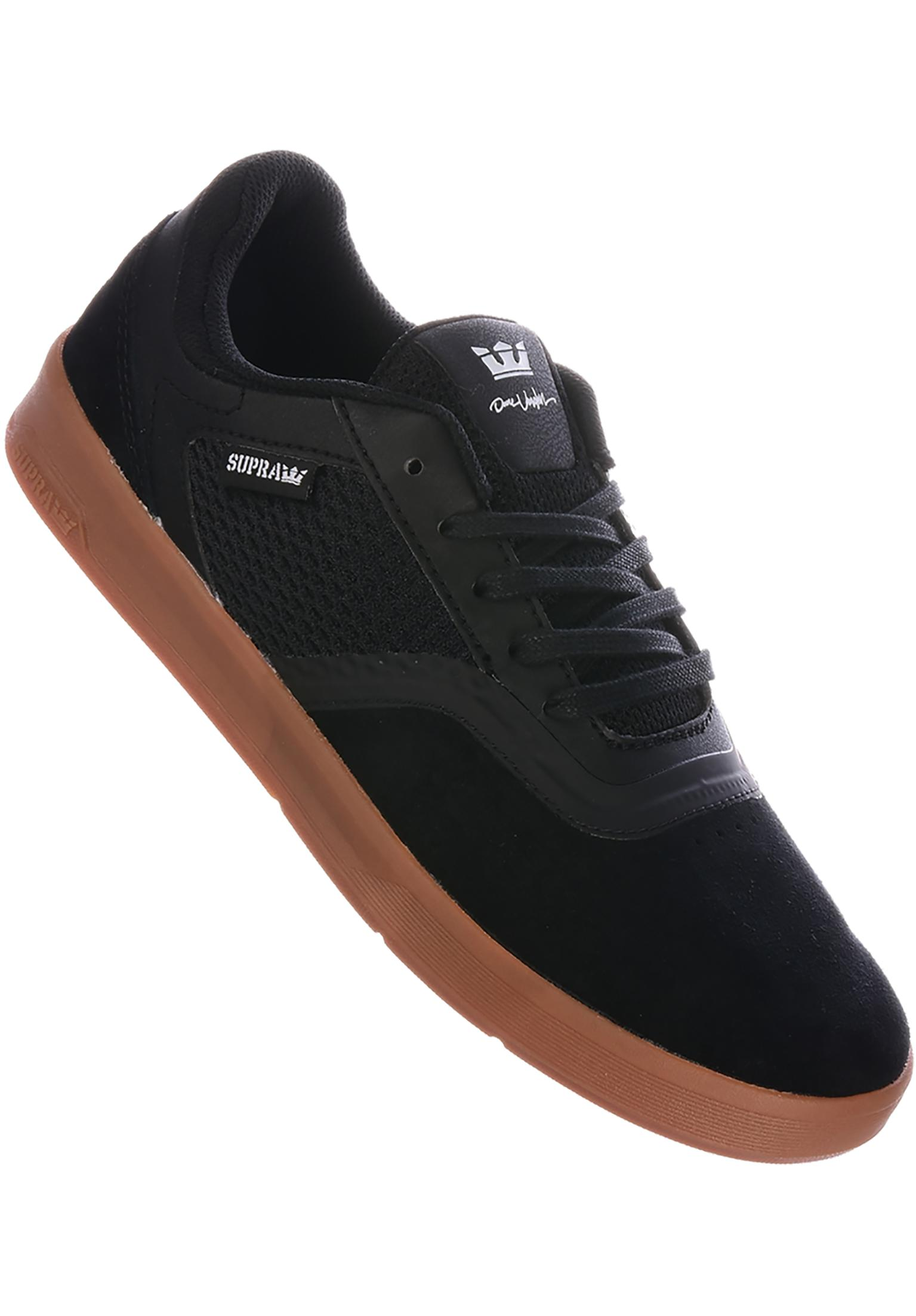 Saint Supra All Shoes in black-gum for Men  65a06ee6b1