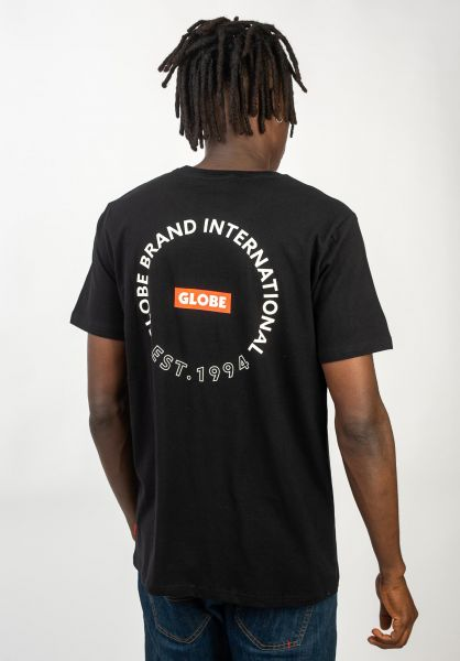 Globe T-Shirts Device black vorderansicht 0320623
