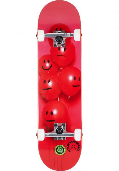 Almost Skateboard komplett Balloons First Push red vorderansicht 0162038