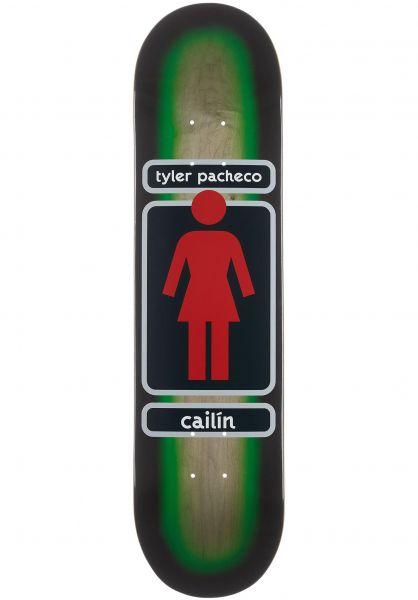 Girl Skateboard Decks Pacheco 93 Til Cailin green-wood vorderansicht 0263954