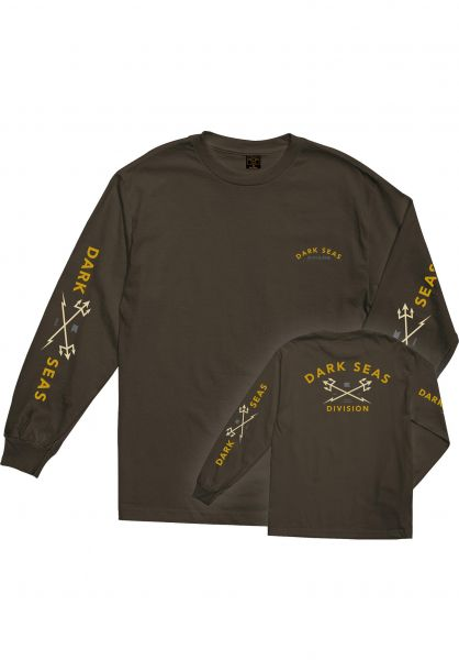 Dark Seas Longsleeves Headmaster coffee vorderansicht 0382460