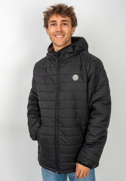 Rip Curl Winterjacken Originals Insulated black vorderansicht 0250131