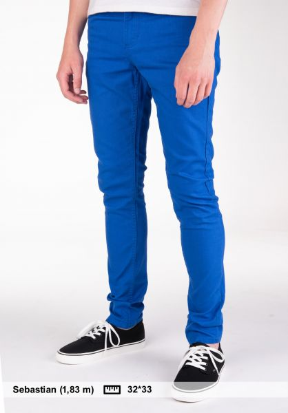 TITUS Jeans Skinny Fit royalblue Vorderansicht