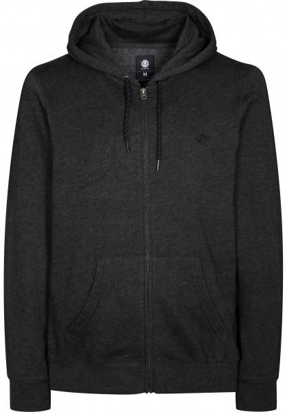 Element Zip-Hoodies Cornell charcoalheather Vorderansicht