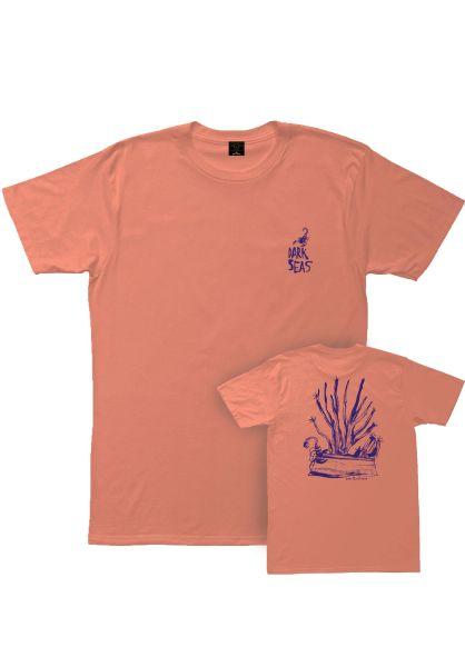 Dark Seas T-Shirts x Daggerz Saguro coral vorderansicht 0399049