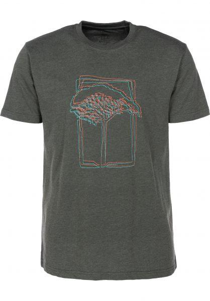 Mahagony T-Shirts 3D darkgreen vorderansicht 0399466