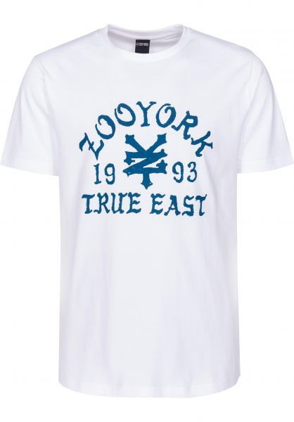 Zoo York T-Shirts Napkins white Vorderansicht