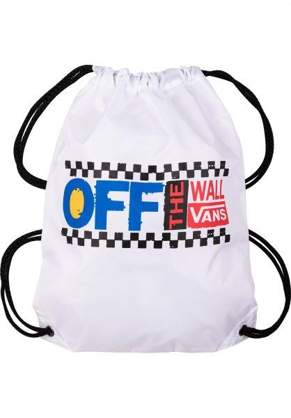 Vans Taschen Benched white-avenue vorderansicht 0890902