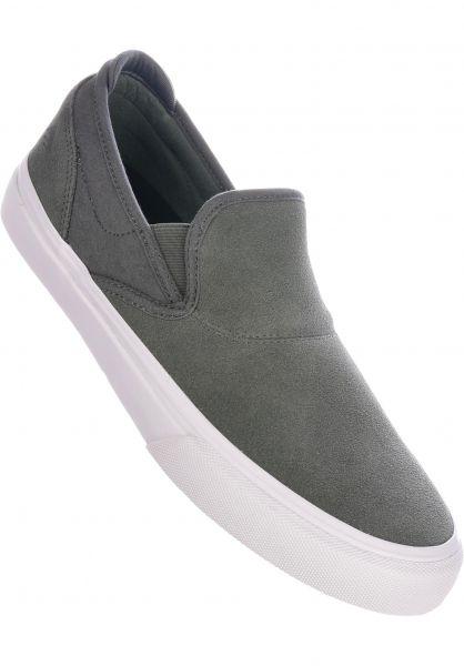 Emerica Alle Schuhe Wino G6 Slip-On grey vorderansicht 0604624