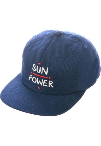 RVCA Caps Sun Power navy vorderansicht 0567089