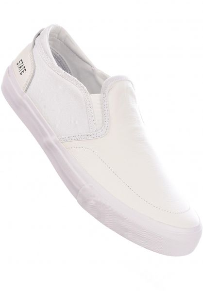 State Alle Schuhe Ben Gore Keys Full Grain Leather white-white vorderansicht 0604922