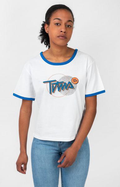 TITUS T-Shirts Ruby white vorderansicht 0383194