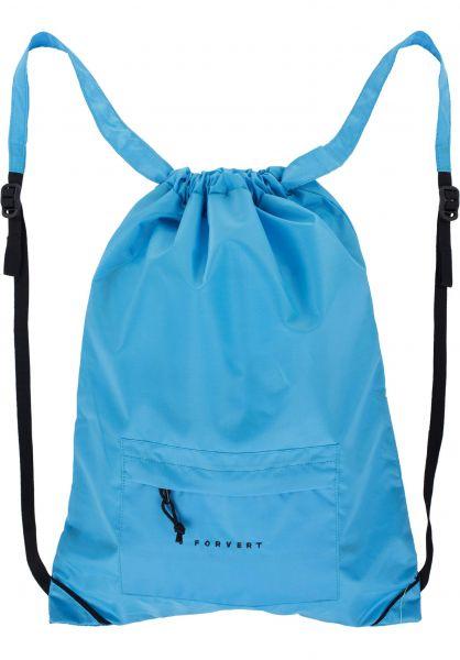 Forvert Taschen Neon Lee blue Vorderansicht