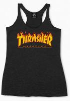 Thrasher-Tops-Flame-Logo-Racerback-black-Vorderansicht