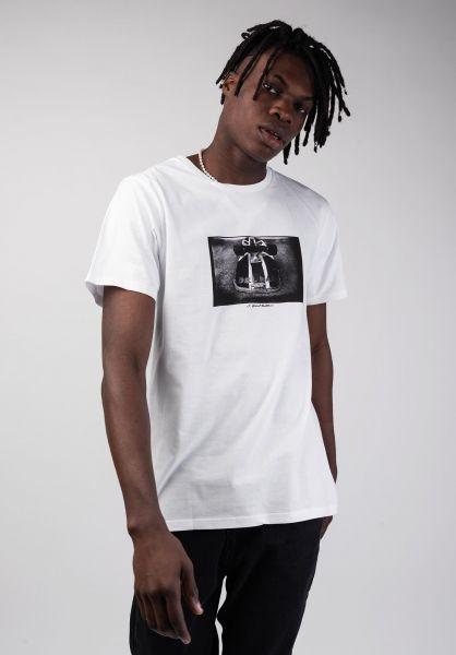 Dedicated T-Shirts Stockholm Delmar white vorderansicht 0320252