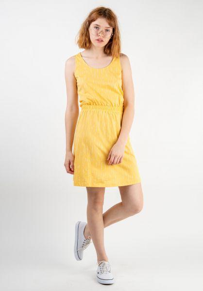 Forvert Kleider Juna yellow-rain vorderansicht 0801474