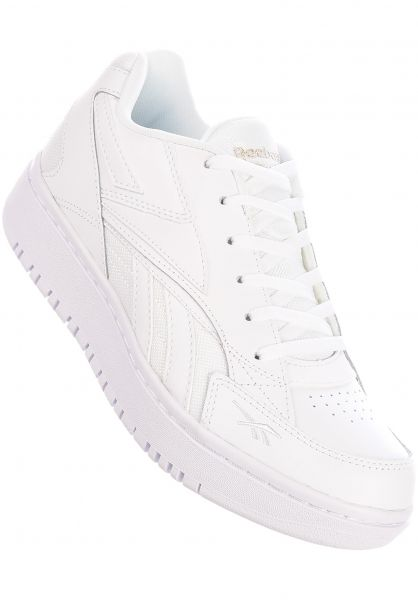 Reebok Alle Schuhe Court Double Mix white-white-pantone vorderansicht 0612531