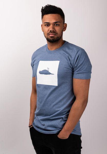 Atticus T-Shirts Box heatherindigo vorderansicht 0399861